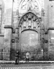 Eglise Saint-Aspais - Portail condamné