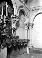 Eglise de Mazères - Choeur, arcature