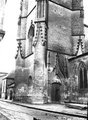 Eglise Notre-Dame - Clocher, partie inférieure