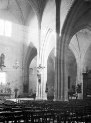 Eglise Notre-Dame - Nef, vue diagonale