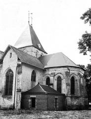 Eglise - Abside et transept, au sud