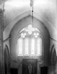 Eglise - Fenêtre, vue intérieure