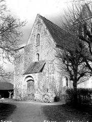 Eglise Saint-Savinien - Façade ouest