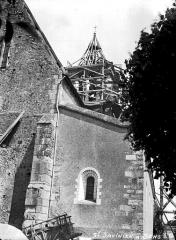 Eglise Saint-Savinien - Clocher échafaudé