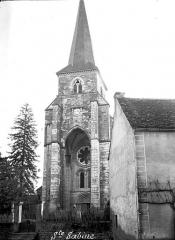 Eglise - Clocher, façade ouest
