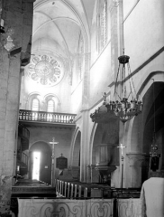 Eglise - Nef, revers du portail