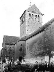 Eglise Saint-Pierre-et-Saint-Paul - Façade latériale et clocher