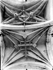 Eglise Saint-Gervais-Saint-Protais - Bas-côté sud, voûtes