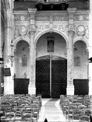 Eglise Saint-Gervais-Saint-Protais - Tribune des orgues