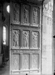 Eglise Saint-Gervais-Saint-Protais - Portail ouest, vantail
