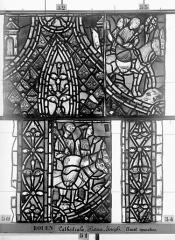 Ensemble archiépiscopal - Vitrail, déambulatoire, baie 57, Histoire de Joseph, quatrième panneau en haut