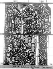 Ensemble archiépiscopal - Vitrail, déambulatoire, la Passion, sixième panneau