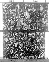 Ensemble archiépiscopal - Vitrail, déambulatoire, la Passion, huitième panneau