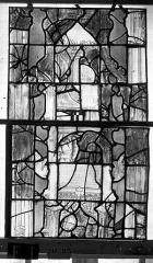 Eglise Saint-Maclou - Vitrail, chapelle des Quatre Confessionnaux, deuxième panneau médian