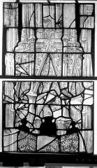 Eglise Saint-Maclou - Vitrail, chapelle des Quatre Confessionnaux, quatrième panneau