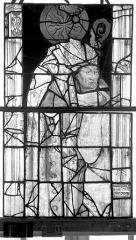 Eglise Saint-Maclou - Vitrail, chapelle des Quatre Confessionnaux, huitième panneau