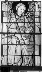 Eglise Saint-Maclou - Vitrail, chapelle des Quatre Confessionnaux, neuvième panneau