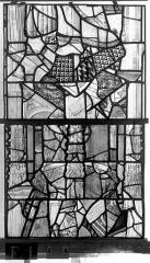 Eglise Saint-Maclou - Vitrail, chapelle des Quatre Confessionnaux, dixième panneau