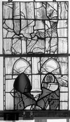 Eglise Saint-Maclou - Vitrail, chapelle des Quatre Confessionnaux, onzième panneau