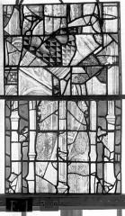 Eglise Saint-Maclou - Vitrail, chapelle des Quatre Confessionnaux, douzième panneau
