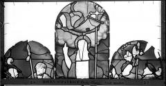 Eglise Saint-Patrice - Vitrail, fenêtre droite du choeur, deuxième panneau