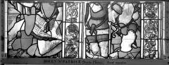 Eglise Saint-Patrice - Vitrail, fenêtre droite du choeur, sixième panneau