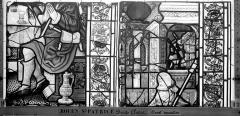 Eglise Saint-Patrice - Vitrail, fenêtre droite du choeur, dixième panneau
