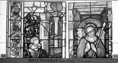 Eglise Saint-Patrice - Vitrail, fenêtre droite du choeur, douzième panneau