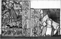 Eglise Saint-Patrice - Vitrail, fenêtre droite du choeur, treizième panneau
