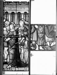 Eglise Saint-Patrice - Vitrail, fenêtre gauche, cinquième panneau