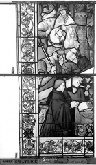 Eglise Saint-Patrice - Vitrail, fenêtre gauche, neuvième panneau