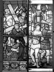 Eglise Saint-Patrice - Vitrail, fenêtre gauche, dixième panneau