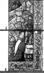 Eglise Saint-Patrice - Vitrail, fenêtre gauche, onzième panneau