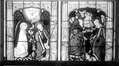 Eglise Saint-Nicaise - Vitrail, fenêtre 3, bas-côté nord, panneaux