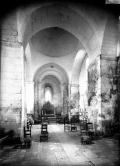 Eglise Sainte-Marie - Nef, vue de l'entrée