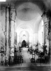 Eglise Sainte-Marie - Nef, vue du choeur