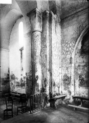 Eglise Sainte-Marie - Colonnes et chapiteaux