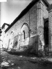 Eglise Saint-Martin - Façade latérale sud