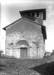 Eglise Saint-Pierre de Faye - Ensemble ouest