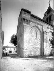 Eglise Saint-Pierre-ès-Liens - Angle sud-ouest