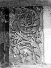Eglise Saint-Just - Rinceaux sculptés