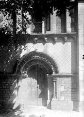 Eglise Notre-Dame - Façade ouest, portail et fenêtre