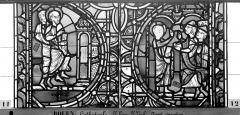 Ensemble archiépiscopal - Vitrail, sacristie des Chanoines, saint Pierre et saint Paul, huitième panneau