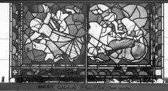 Ensemble archiépiscopal - Vitrail, sacristie des Chanoines, saint Pierre et saint Paul, douzième panneau
