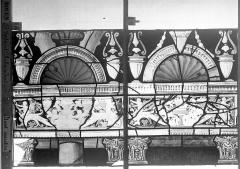 Eglise Saint-Godard - Vitrail baie 18, Arbre de Jessé, douzième panneau, en haut