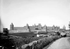 Cité de Carcassonnne - Remparts: vue d'ensemble