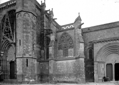 Eglise Saint-Nazaire - Façade nord: détail