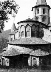 Ancienne abbaye Sainte-Foy - Abside et clocher