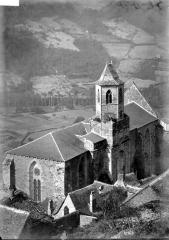 Eglise Saint-Jean - Ensemble nord-est: vue plongeante