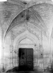 Ancienne chartreuse Saint-Sauveur - Portail